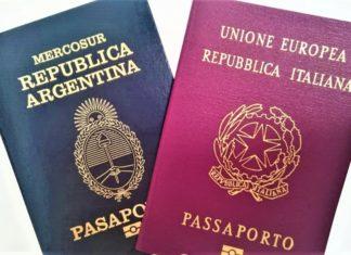 Ciudadanía italiana pasaporte argentino